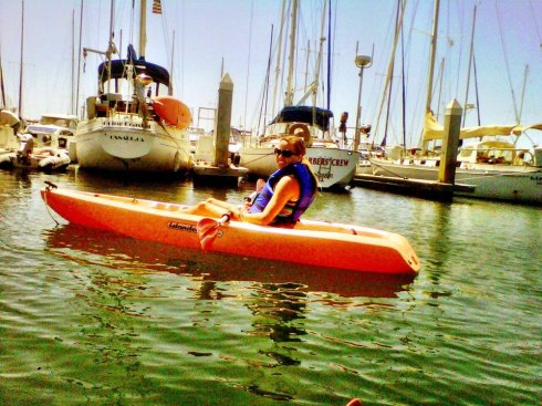 kayaking in Ventura.