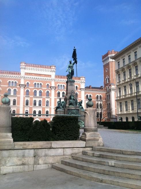outside Baker & McKenzie: Vienna