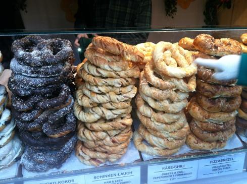so many pretzels.