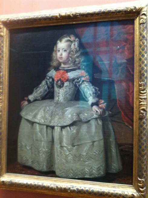 Velazquez's Margarita Teresa (done at the same time as his Las Meninas)