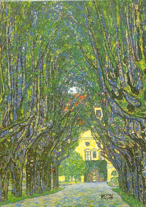 #love... Klimt - Avenue in Schloss Kammer Park