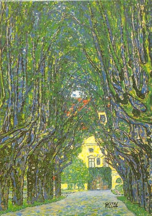 #love... Klimt - Avenue in Schloss Kammer Park