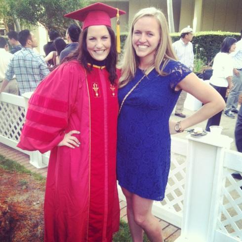 celebrating my roommate Jenn's graduation from law school.