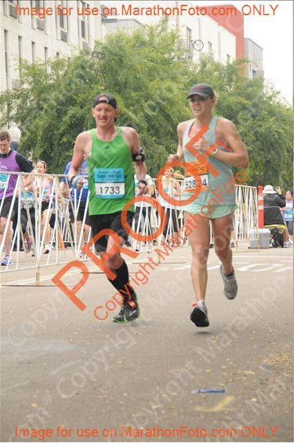 finishing my first full marathon.