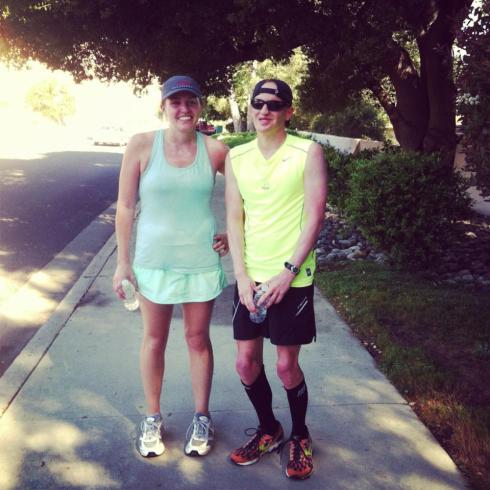 running skirt convert on my first 20 miler.