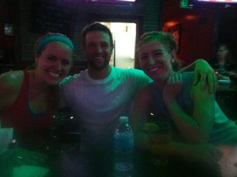Me, Brett, and Kim.