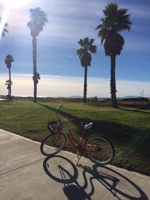 christmas day bike ride with the fam in Oxnard. (aka a reminder I need to get a bike).
