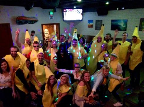 this birthday was bananas. B-A-N-A-N-A-S